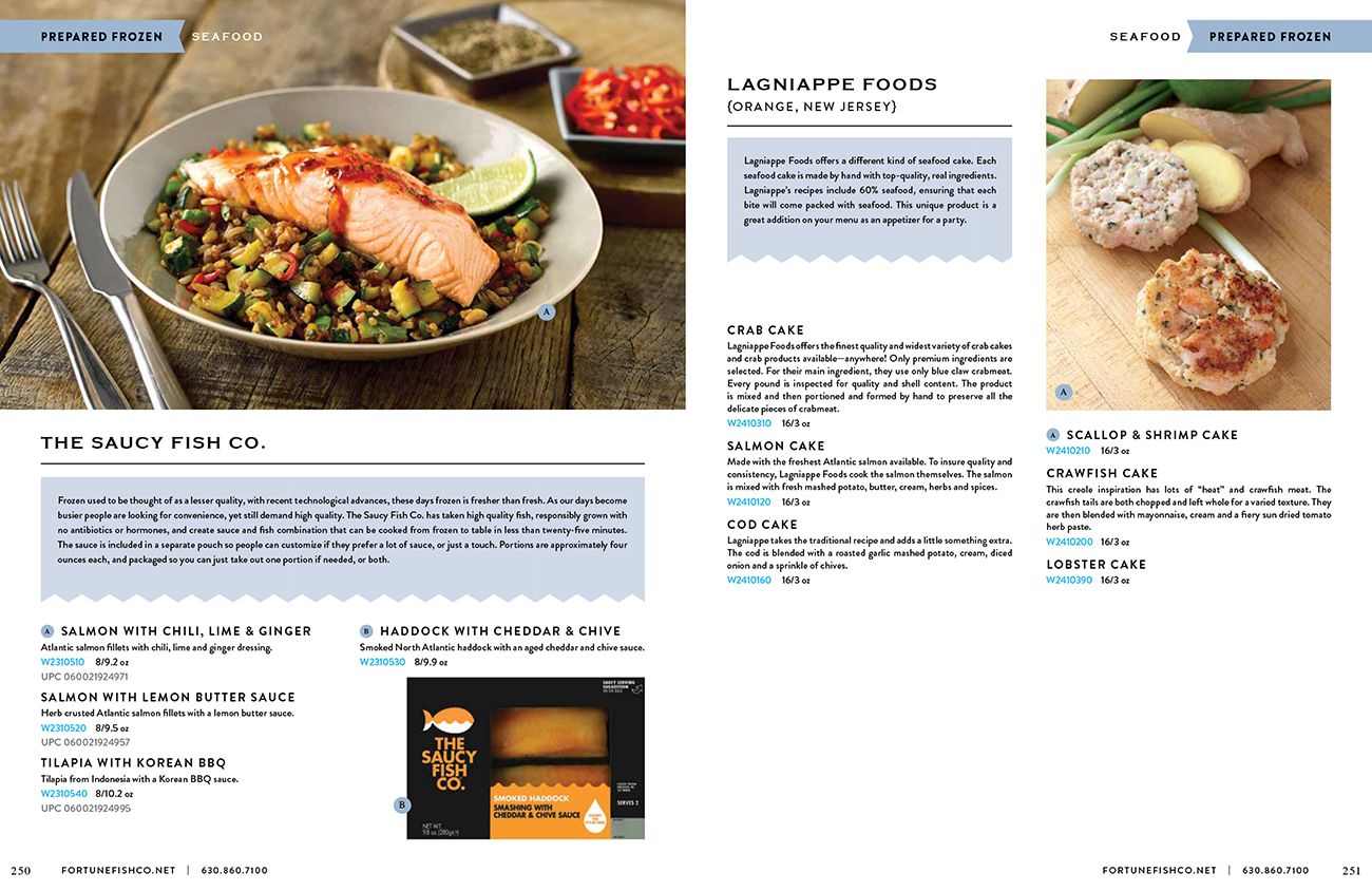 Fortune Fish Everyday Catalog